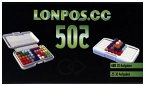 HCM Kinzel 56116 - Lonpos 505, Denkspiel, Reisespiel