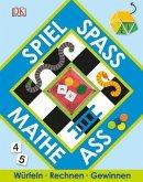 Spiel, Spaß, Mathe-Ass, m. Spielplättchen u. 2 Würfeln (Restexemplar)