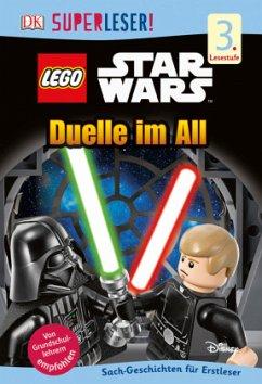 SUPERLESER! LEGO® Star Wars(TM) Duelle im All / Superleser 3. Lesestufe Bd.5