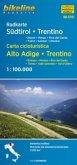 Bikeline Radkarte Südtirol Dolomiten; Bikeline Carta cicloturistica Alto Adige, Dolomiti