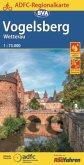 ADFC Regionalkarte Vogelsberg Wetterau mit Tagestouren-Vorschlägen, 1:75.000, reiß- und wetterfest, GPS-Tracks Download