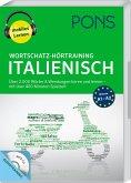 PONS Wortschatz-Hörtraining Italienisch, 1 MP3-CD