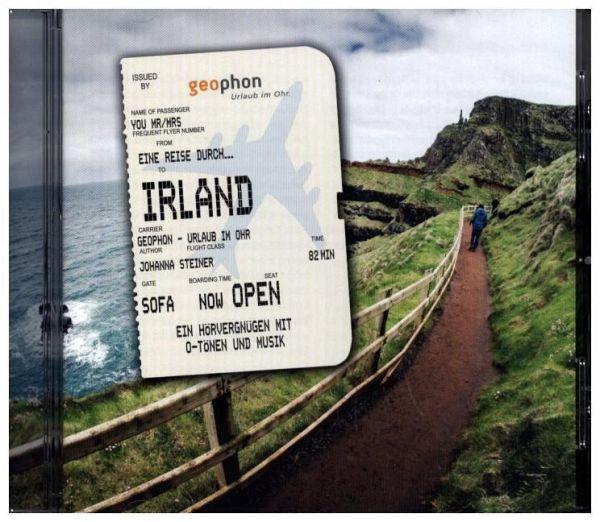Eine Reise durch Irland, 1 Audio-CD - Steiner, Johanna