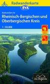 BVA Radwanderkarte Radwandern im Rheinisch-Bergischen und Oberbergischen Kreis 1:50.000, reiß- und wetterfest, GPS-Track