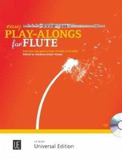 Easy Play-Alongs for Flute, für Flöte und Klavierbegleitung, m. Audio-CD