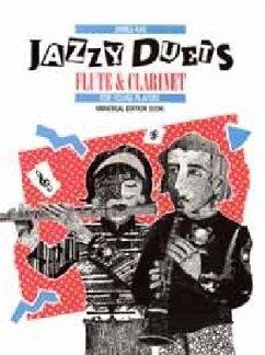 Jazzy Duets, für Flöte und Klarinette