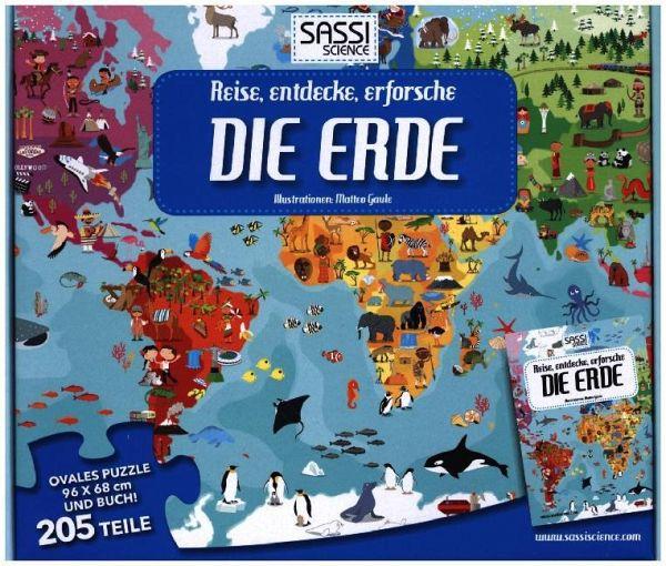 Reise, entdecke, erforsche (Kinderpuzzle), Die Erde