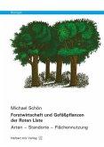 Forstwirtschaft und Gefäßpflanzen der Roten Liste / Biologie