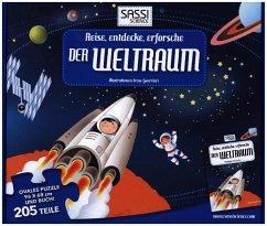 Reise, entdecke, erforsche, Der Weltraum (Kinderpuzzle)