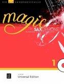 Magic Saxophone - Die Altsaxophonschule, für 1-2 Altsaxophone mit Audio-CD, teilweise mit Klavierbegleitung