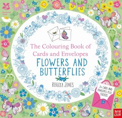 The National Trust: Colouring Cards and Envelopes: Flowers and Butterflies - Jones, Rebecca