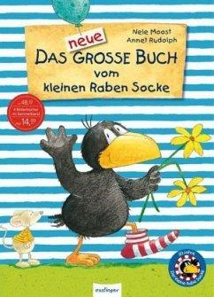 Der kleine Rabe Socke: Das neue große Buch vom kleinen Raben Socke - Jubiläums-Relaunch - Moost, Nele