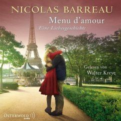 Menu d'amour, 1 Audio-CD - Barreau, Nicolas