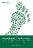 Was jede Führungskraft über Green Economy und nachhaltige Entwicklung wissen sollte (eBook, ePUB)