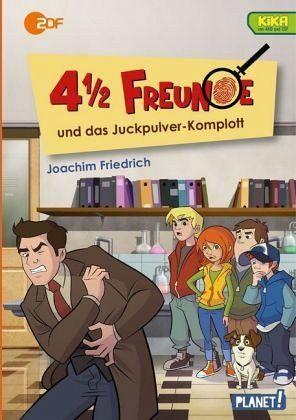 Buch-Reihe 4 1/2 Freunde von Joachim Friedrich