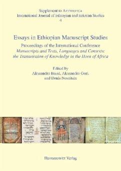 Essays in Ethiopian Manuscript Studies