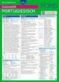 PONS Grammatik auf einen Blick Portugiesisch