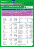 PONS Basiswortschatz auf einen Blick Deutsch-Arabisch