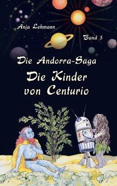 Buch-Reihe Die Andorra-Saga von Anja Lehmann