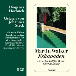 Eskapaden / Bruno, Chef de police Bd.8 (8 Audio-CDs) - Walker, Martin