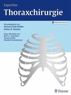 Expertise Thoraxchirurgie (eBook, PDF)