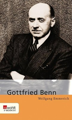 Gottfried Benn (eBook, ePUB) - Emmerich, Wolfgang