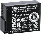 Sigma BP-51 Li-Ion Akku