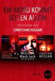 Ein Mord kommt selten allein - drei Romane von Christiane Heggan (eBook, ePUB)