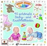 40 schönste Baby- und Krabbellieder, 2 Audio-CDs