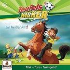Ein heißer Ritt! / Teufelskicker Hörspiel Bd.60 (1 Audio-CD)