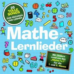 Mathe-Lernlieder, 1 Audio-CD - Marie & Finn