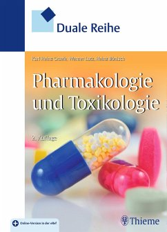 Duale Reihe Pharmakologie und Toxikologie - Gräfe, Karl-Heinz;Lutz, Werner K.;Bönisch, Heinz