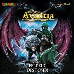 Feldzug des Bösen / Die Chroniken von Avantia Bd.2 (MP3-Download) - Blade, Adam