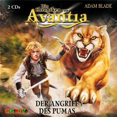 Der Angriff des Pumas / Die Chroniken von Avantia Bd.3 (MP3-Download) - Blade, Adam