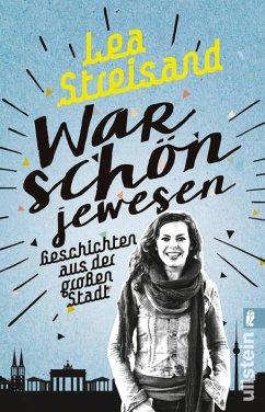 War schön jewesen (eBook, ePUB) - Streisand, Lea