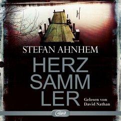 Herzsammler / Fabian Risk Bd.2 (2 MP3-CDs) - Ahnhem, Stefan