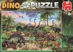 Jumbo 19295 - Dinosaurier Puzzle 300 Teile