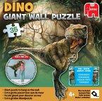 Jumbo 19296 - Dinosaurier Wandpuzzle, 50 Teile