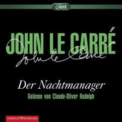 Der Nachtmanager, 3 MP3-CDs - Le Carré, John