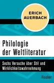 Philologie der Weltliteratur (eBook, ePUB)