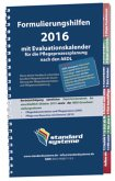 Formulierungshilfen 2016 für die Pflegeprozessplanung nach den AEDL