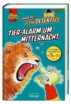 Tieralarm um Mitternacht / Olchi-Detektive Sammelband Bd.2 - Dietl, Erhard