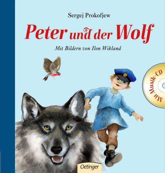 peter und der wolf mit cd von sergej prokofjew buch. Black Bedroom Furniture Sets. Home Design Ideas