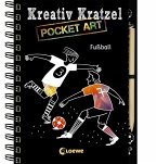 Kreativ-Kratzel Pocket Art: Fußball