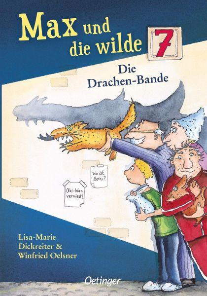 Buch-Reihe Max und die Wilde Sieben