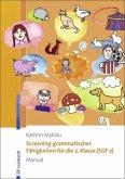 Screening grammatischer Fähigkeiten für die 2. Klasse (SGF 2) - Manual