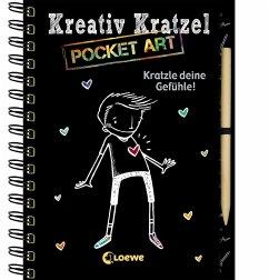 Kreativ-Kratzel Pocket Art: Kratzle deine Gefühle!