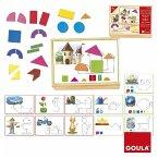 Goula D51353 - Magnet-Legespiel Formen und Figuren