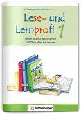 Lese- und Lernprofi 1 - Schülerarbeitsheft - silbierte Ausgabe