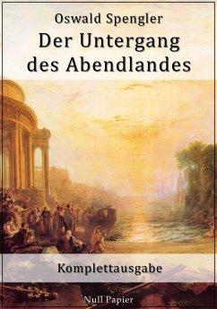 Der Untergang des Abendlandes (eBook, PDF)